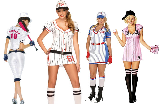 Baseball Halloween Costumes for Women - bb