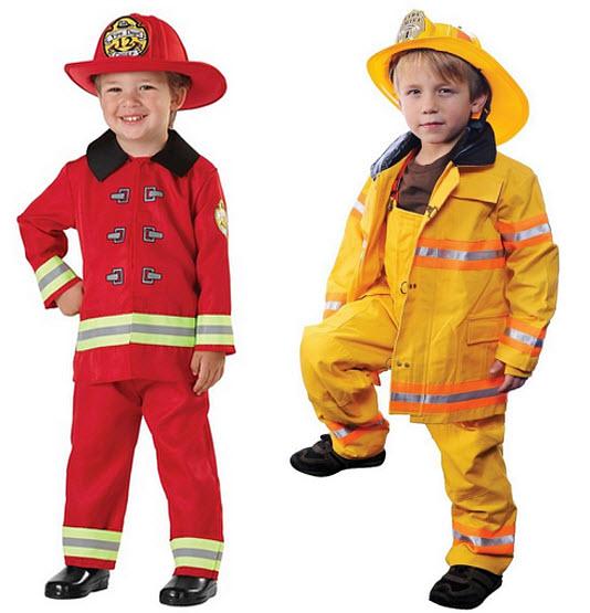 Kid fireman costume - c