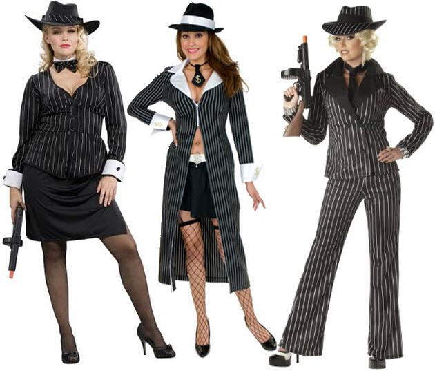 Mafia costumes for women - 2