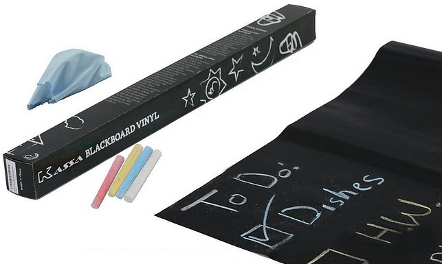 Peel and Stick Chalkboard Contact Paper - 2