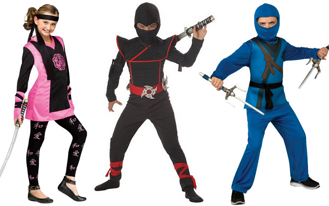 Kids Ninja Halloween costume - b