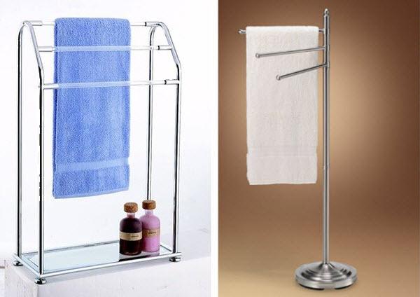 floor standing towel rack for bathroom - 3