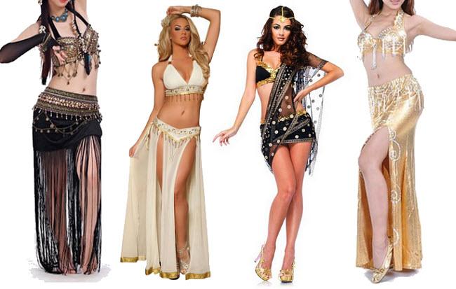 Belly dancer Halloween costumes - b