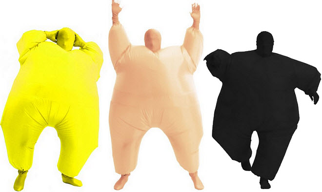 Blow up costumes - b