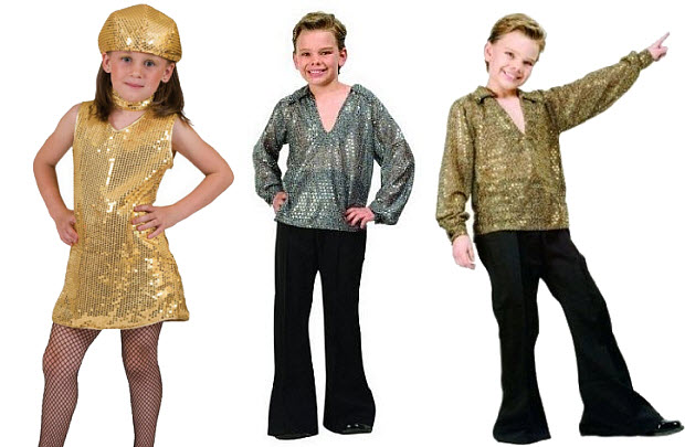 Disco clothing for kids - b