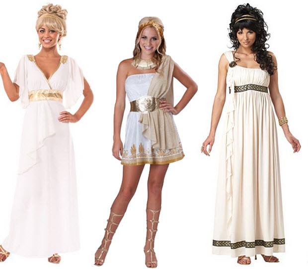Greek Goddess Halloween costumes - bb