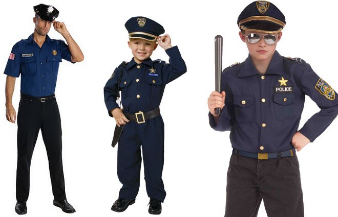 Police Halloween costumes - b