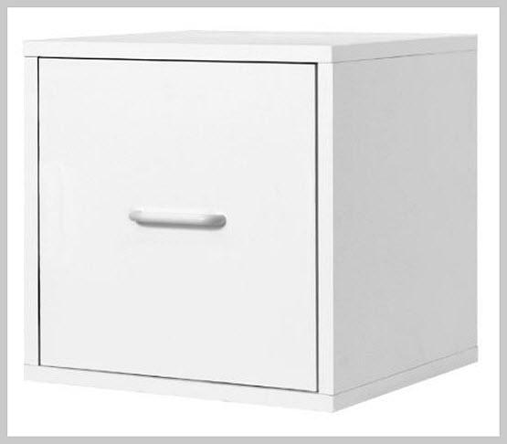 Single drawer file cabinet - b