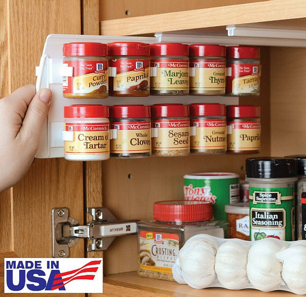 Spice racks for kitchen cabinets - b