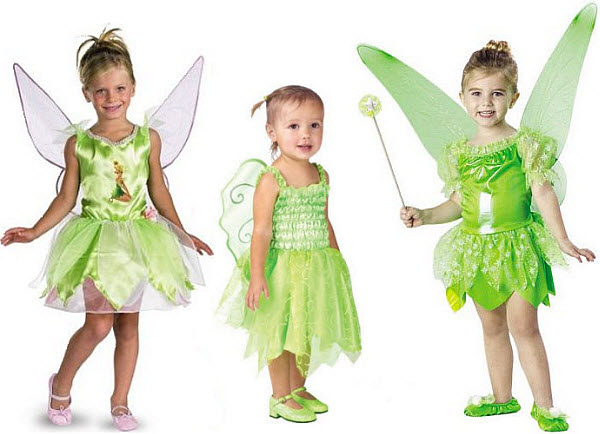 Tinkerbell outfit for kids - 2