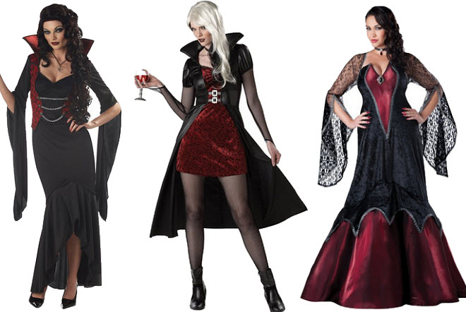 Vampire Halloween costumes for women - b