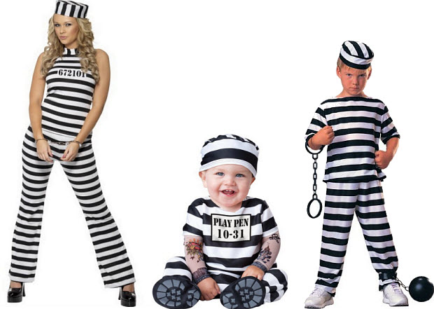 Prisoner Halloween costumes - b