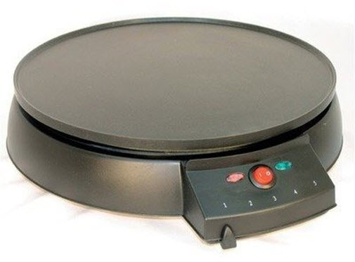 Round electric griddle - 2