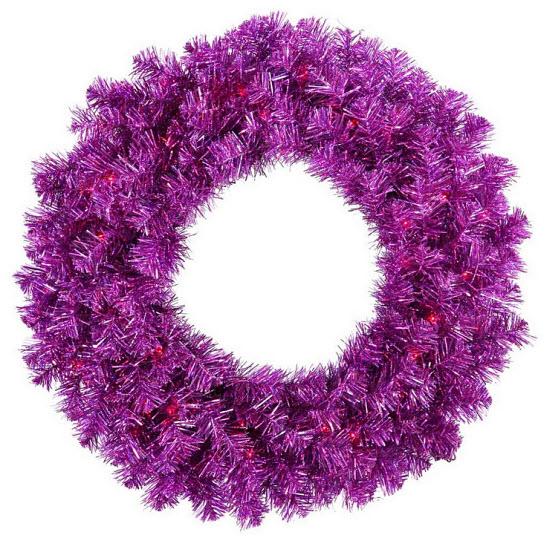 Purple wreath - 2