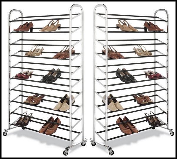50 Pair Shoe Rack - 2