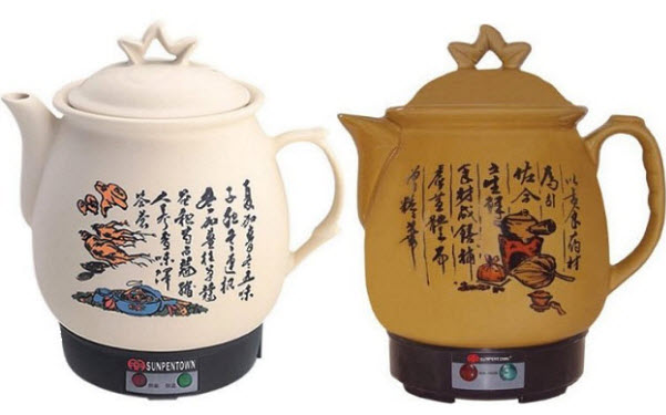Ceramic electric kettle 2