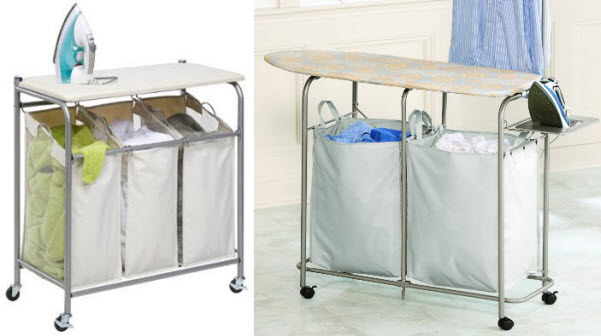 Hamper with ironing board - 2