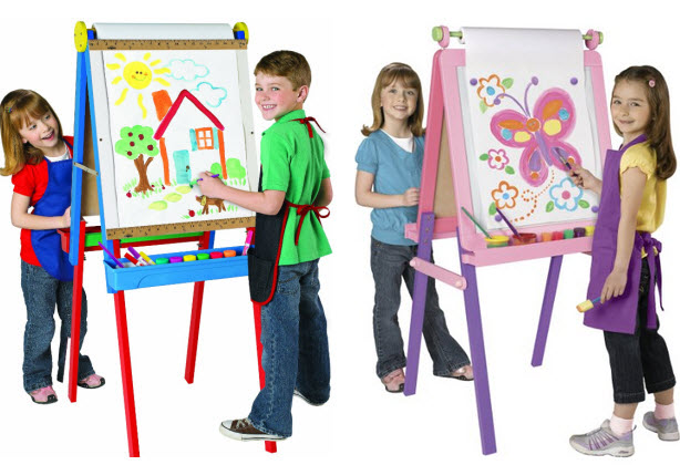 Kids easel with paper roll - 2
