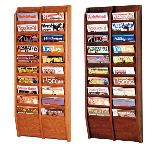 Office magazine rack - b