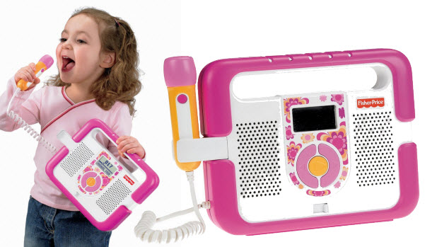 Portable karaoke machine for kids - 2