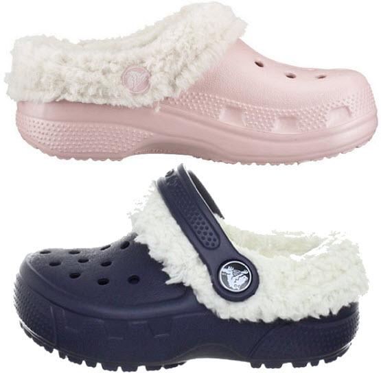 Winter crocs for kids - 2