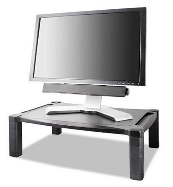 Adjustable monitor riser - b