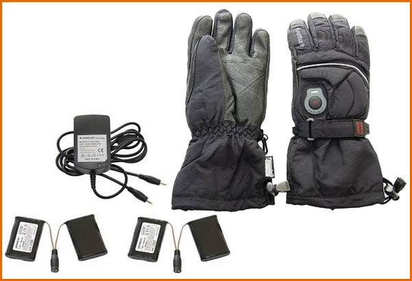 Battery powered heated gloves - 2