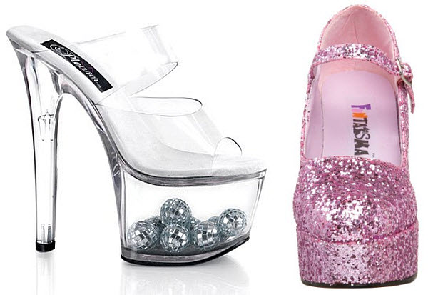 Disco shoes for women