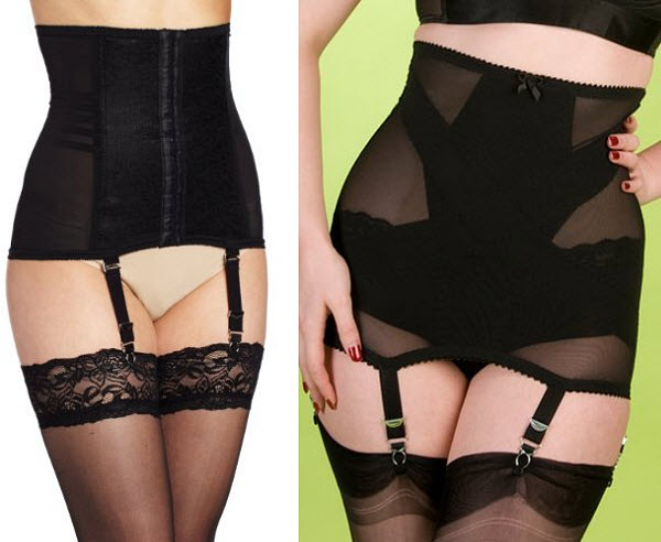 Girdles with garters
