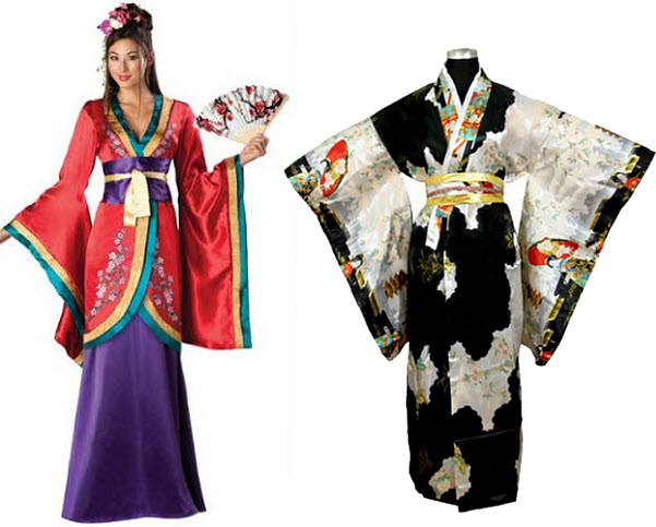 Japanese Geisha costumes - 2