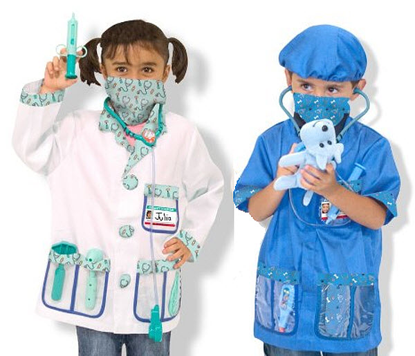 Kids lab coat costume