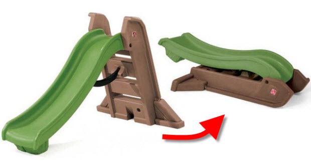 Kids plastic slide