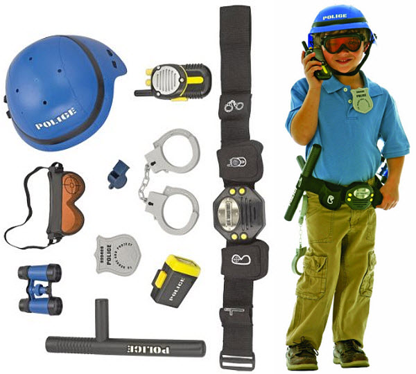 Kids police belt