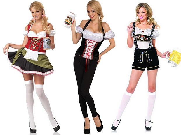 Lederhosen costumes for women - b