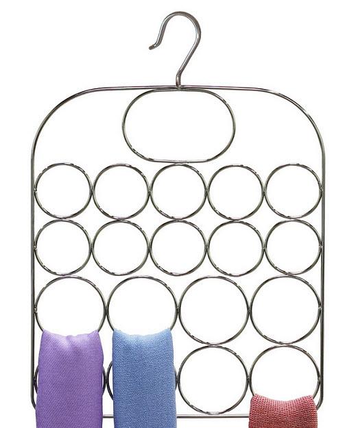 Scarf hanger organizer - b