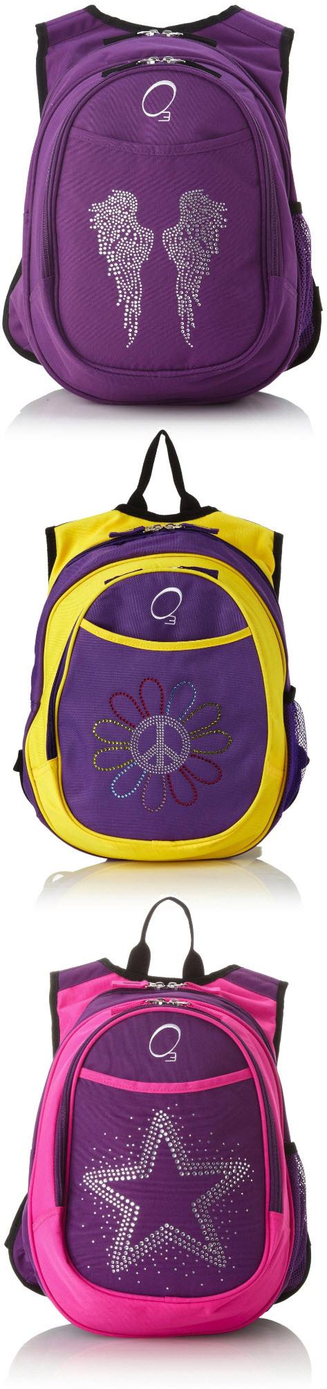 Cute purple backpacks for kids