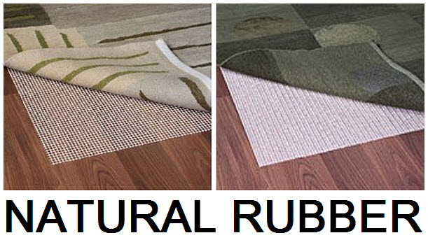 Rubber rug pad