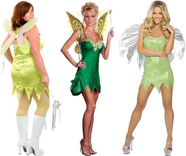 Sexy tinkerbell costumes for women