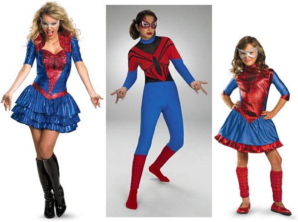 Spider girl Halloween costume