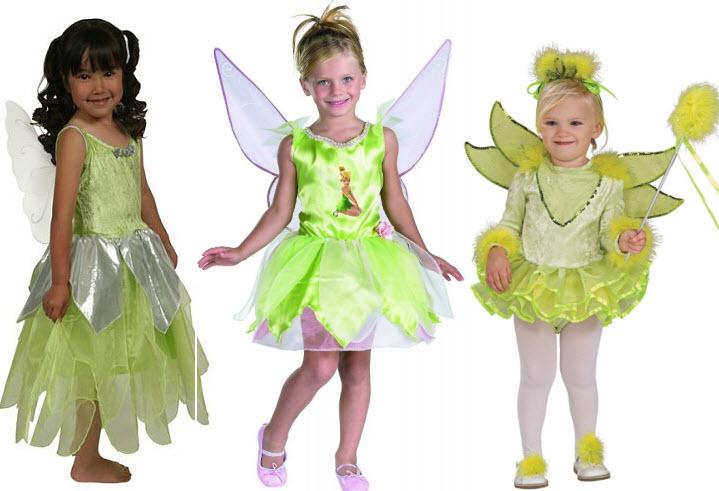 Tinkerbell Halloween costume for girls