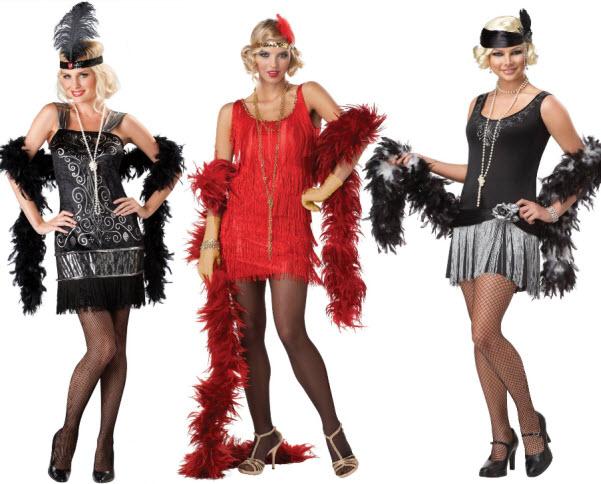 Adult womens flapper costume