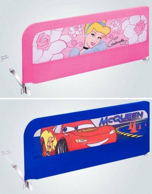 Bed side rails for kids