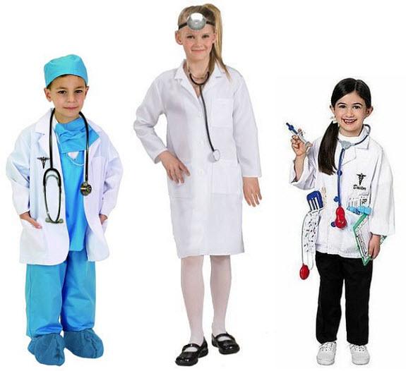 Kids doctor Halloween costume