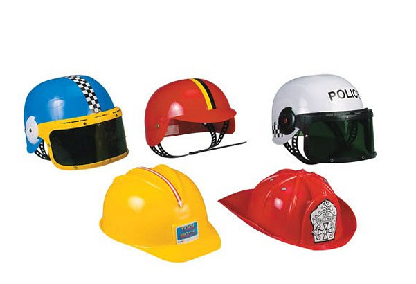 Kids police helmet