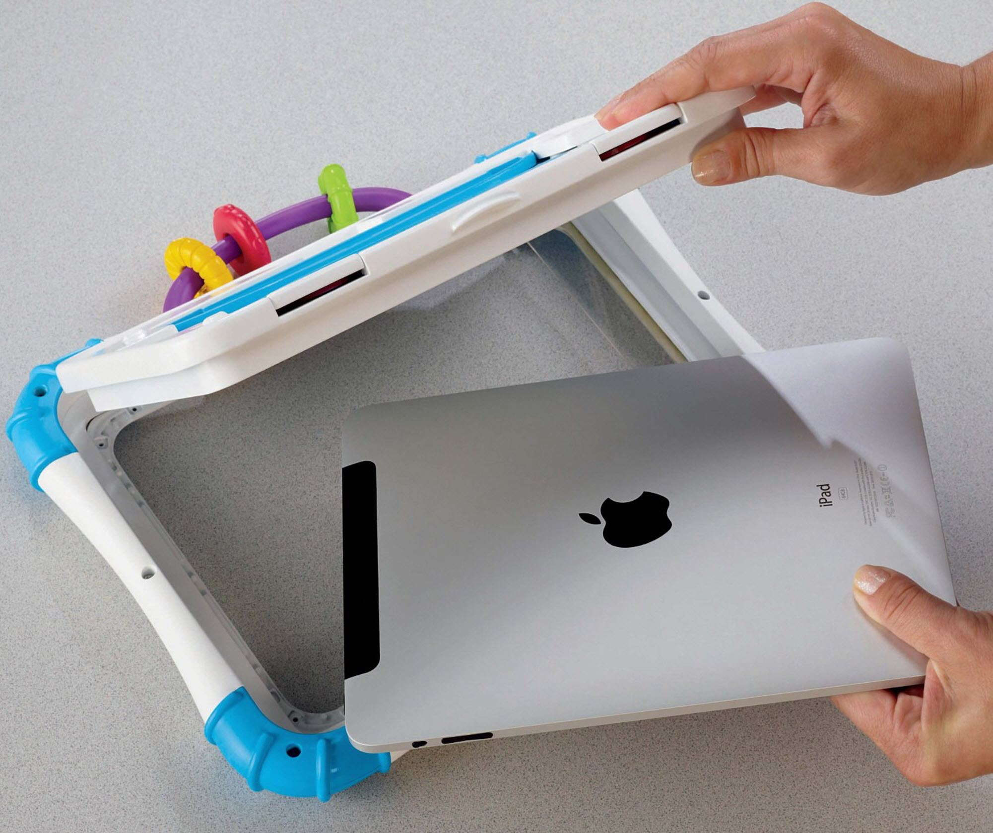 Protective iPad case for babies