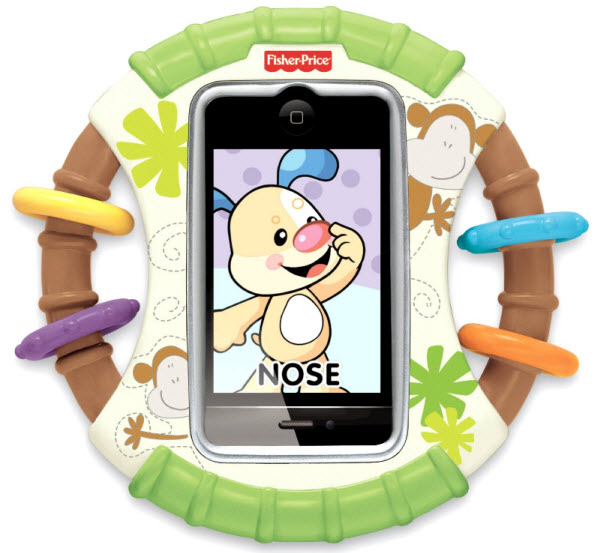 Protective phone case for babies