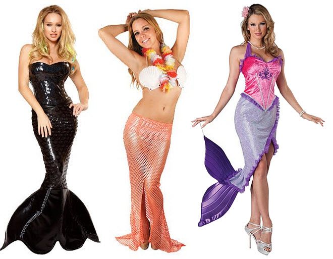 Sexy mermaid Halloween costume - 2