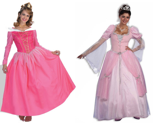 Womens princess dress