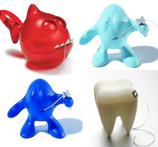 Dental floss dispenser