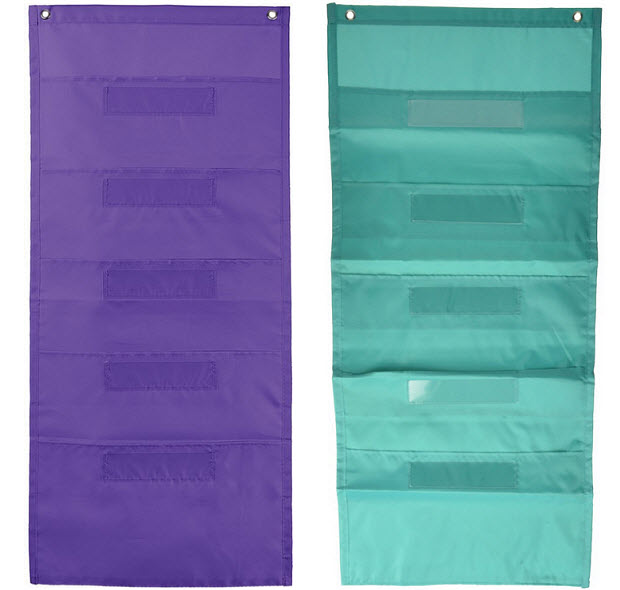 Hanging organizer with pockets - b